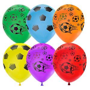 Воздушные шары  Футбол 25 шт, пастель + декоратор Latex Occidental. Цвет: разноцветный