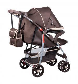 Прогулочная коляска  Emma plus, цвет: brown Lionelo