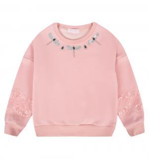 Джемпер  Зефирки, цвет: розовый Colabear