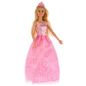 , Кукла София Принцесса в розовом платье, 29см Карапуз
