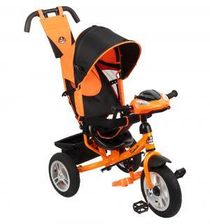 Трехколесный велосипед  S-511, цвет: оранжевый Capella