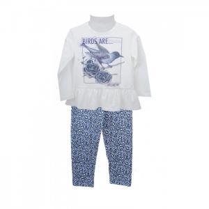 Комплект для девочки (кофта и брюки) 72Z4OLE76 Zeyland