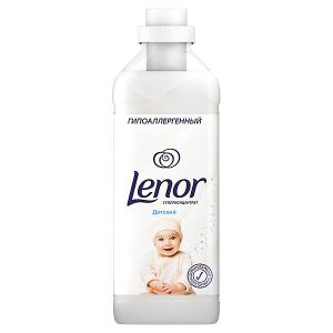 Кондиционер для белья  Концентрат чувствительной кожи Детский, 1 л Lenor. Цвет: weiß/beige