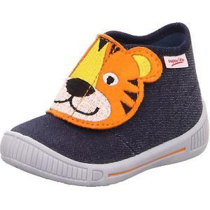 Ботинки Superfit. Цвет: синий/оранжевый