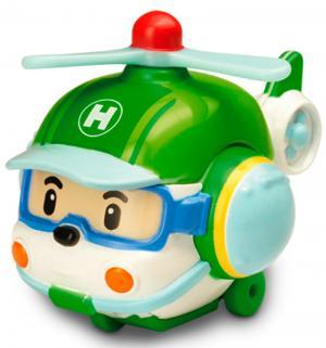 Вертолет Robocar Poli Хэлли 6 см Silverlit