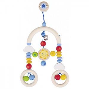 Подвесная игрушка  Клипса-трапеция с игрушкой Веселое Солнышко Heimess
