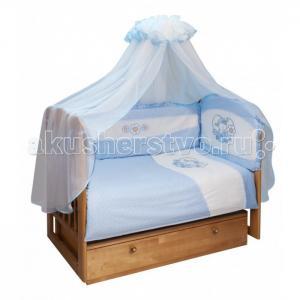 Комплект в кроватку  Овечка (7 предметов) Soni Kids