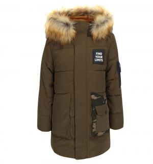 Пальто , цвет: хаки Boom