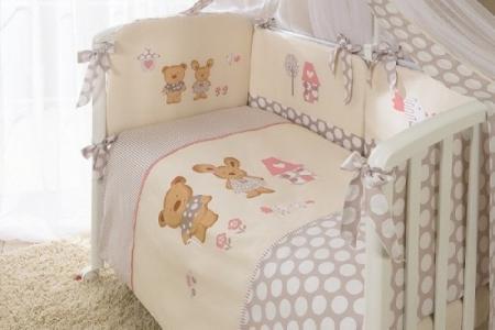 Комплект постельного белья  Венеция, цвет: бежевый 3 предмета Perina