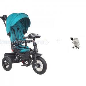 Велосипед трехколесный  Mini Trike T400 Jeans с дождевиком BamBola Mars