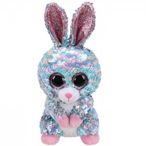 Мягкая игрушка  Рейндроп кролик с пайетками 15 см TY