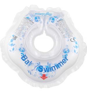 Круг на шею  Гжель, цвет: голубой Baby Swimmer