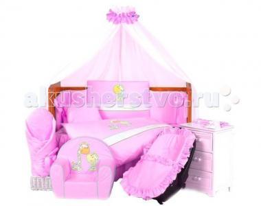 Комплект в кроватку  Forever Together (7 предметов) Tuttolina