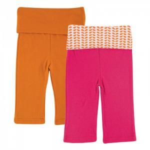 Комплект Штанишки для девочек 2 шт. Yoga Sprout