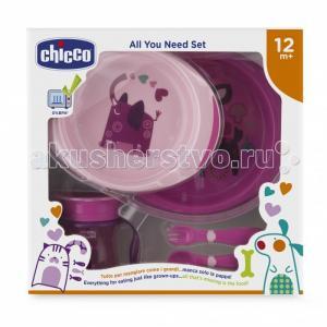 Набор детской посуды от 12 мес. Chicco