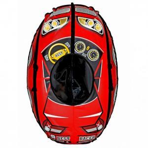 Тюбинг  Надувные санки овальные Машинка Best Racer R-Toys