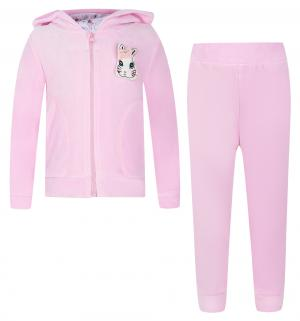Комплект толстовка/брюки  Алиса, цвет: розовый Free Age