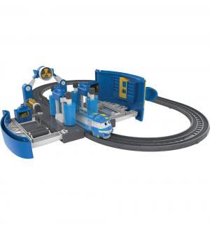 Игровой набор Robot Trains Роботы-поезда Мойка Кея Silverlit