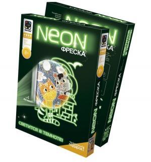 Набор для творчества  Neon фреска Кто выше Фантазер