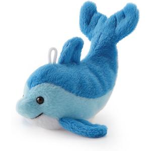 Мягкая игрушка  Дельфин, 9 см Trudi. Цвет: голубой