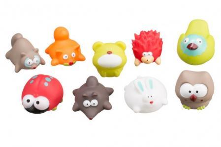 Набор игрушек для ванной Лесные жители ROXY-KIDS
