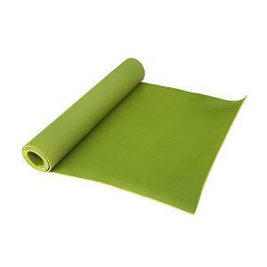 Коврик для йоги и фитнеса  173*61*0,4см , салатовый Z-Sports. Цвет: светло-зеленый
