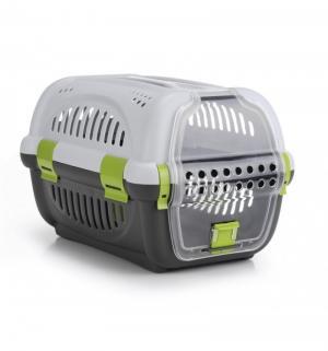 Переноска  для собак, цвет: серо-зеленый, 51*34.5*33см Beeztees