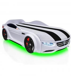 Кровать-машина  Junior Passat, цвет: белый Romack
