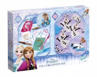 Набор для творчества Frozen set 2 в 1 Totum