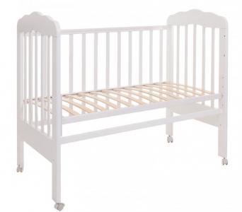 Детская кроватка  Мария 1 (колесо) Топотушки