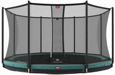 Батут InGround Favorit 430 с сеткой Safety Net Comfort Berg