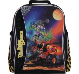 Рюкзак школьный  the outer space 3 дизайна 38.5х37х22.5 см Tiger