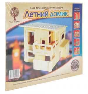 Сборная деревянная модель  Летний домик Wooden Toys