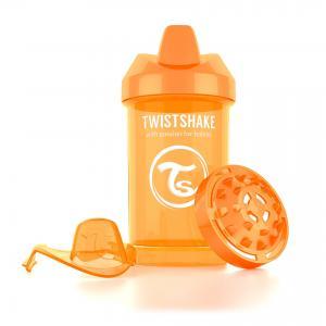 Поильник  Crawler Cup, цвет: оранжевый Twistshake