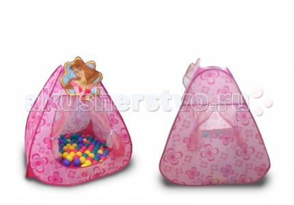 Ching-Ching Дом + 100 шаров Принцесса BabyOne
