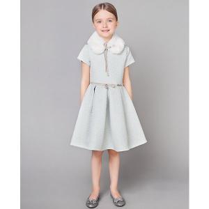 Нарядное платье Choupette. Цвет: голубой