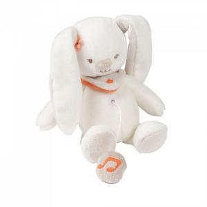 Мягкая игрушка  Mini Mia & Basile Кролик музыкальная Nattou