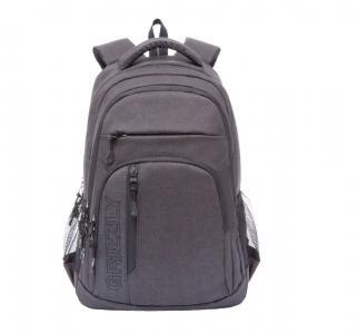 Рюкзак  цвет: черный 32х47х17 см Grizzly