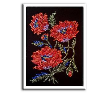 Мозаика из пайеток Маки Волшебная мастерская