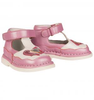 Туфли , цвет: белый/фиолетовый Топотам