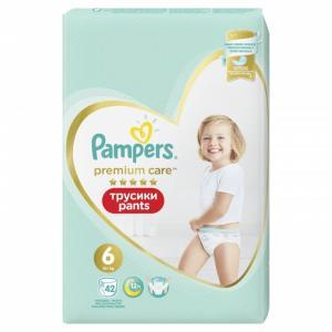 Трусики Premium Care р.6 (15+ кг) 42 шт. Pampers