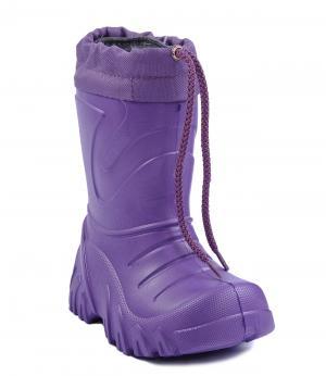 Резиновые сапоги утепленные (фиолетовые) Lemigo. Цвет: фиолетовый