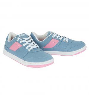 Кроссовки  Petra, цвет: розовый/синий Ascot