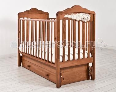Детская кроватка  Изабель универсальный маятник Angela Bella