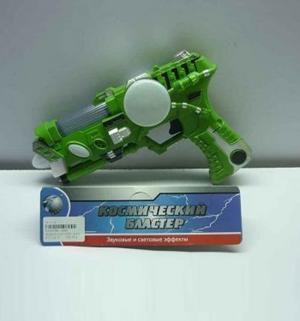 Пистолет Tongde Космический бластер свет звук 23 х 15 4.5 см JOY TOY