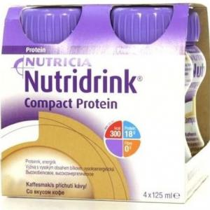 Молочная смесь  Compact Protein кофе №4 с 3 лет, 125 г Nutridrink