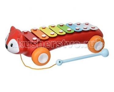 Музыкальный инструмент  Ксилофон Лиса Skip-Hop