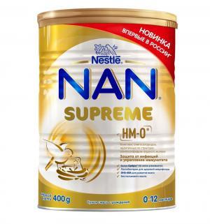 Заменитель молока  Supreme 0-12 месяцев, 400 г Nan
