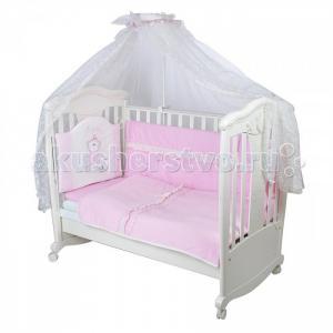 Комплект в кроватку  Я Принцесса ш4115 (7 предметов) Балу