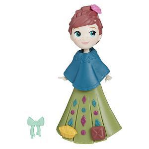 Мини-кукла Disney Princess Холодное сердце, Анна в зелёном платье Hasbro. Цвет: разноцветный